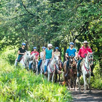 Horseback Riding Tour to Chorreras & Victoria Waterfalls