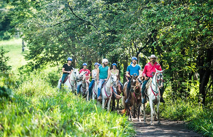Chorreas and Victoria Horseback Riding